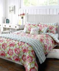 Shabby Chic Bed Linen Uk by Design Florence Shabby Chic Super King Size Quilt Cover U0026 2 Pillow