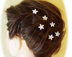 rhinestone hair tiny rhinestone hair flowers