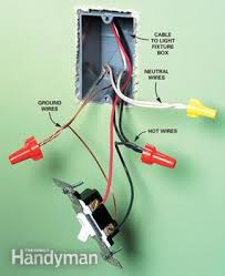 adding a receptacle family handyman