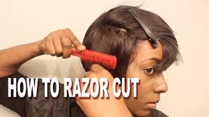 detroit short hair how to razor cut a short wig detroit style wig sale announcement