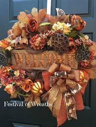 best 25 fall deco mesh ideas on fall mesh wreaths