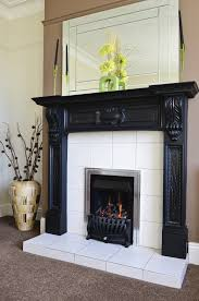 raised hearth fireplace binhminh decoration