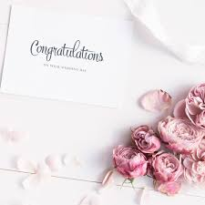 wedding day congratulations congratulations on your wedding day card jakbern creative