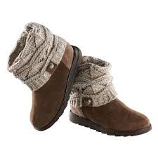 sweater boots cable knit boots with sweater cuff at catalog classics lc3482