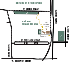 Portland Parking Map by Plan A Visit Irish Cultural Center And Mcclelland Library