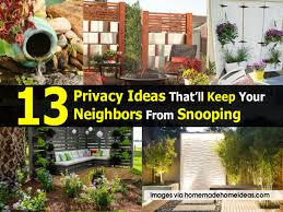 13 privacy ideas that u0027ll keep your neighbors from snooping