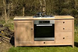 meubles cuisine bois massif meuble cuisine indépendant maison et mobilier d intérieur