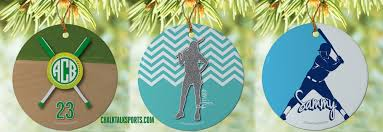 personalized ornaments for all sports chalktalksports