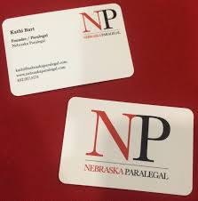 paralegal business cards nebraska paralegal marketing collateral say hey there llc