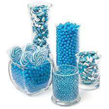 amazon com blue candy kit party candy buffet table hard