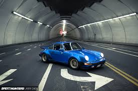 vintage porsche blue made in la wheels fit for an outlaw speedhunters
