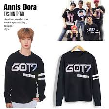 junior sweaters kpop got7 we re gonna fly 1st concert fly in silver print