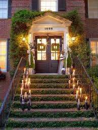 classic patio design with themed front stair patio