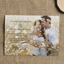 cheap rustic wedding invitations cheap simple rustic photo wedding invitations ewi304 as