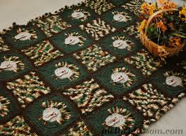 thanksgiving crochet blanket mellie blossom