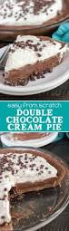 double chocolate cream pie recipe nice chocolate cream and