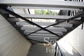 commercial precast stairs sentinel fence u0026 rail