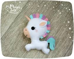 cute unicorn felt ornament unicorn christmas ornament easter