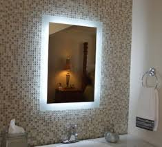 Lighted Bathroom Wall Mirrors Lighted Bathroom Wall Mirror Images Fabrizio Design The Right