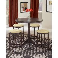 home decorators collection tavern 3 piece espresso bar table set