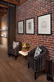 Fake Exposed Brick Wall 100 Best Interior Brick Images On Pinterest Architecture Home