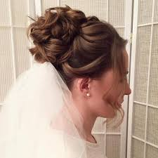 wedding hair veil 40 chic wedding hair updos for brides