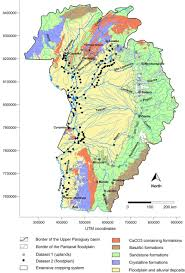 Parana River Map Journal Of Environmental Quality Surface Water Quality Impacts