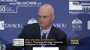 general michael hayden discusses playing edge apr 8 2017 c span org