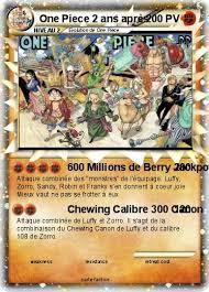 pokémon one piece 2 ans apres 1 1 600 millions de berry jackpot