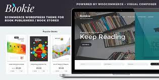 bookie wordpress theme for books store by tokopress themeforest