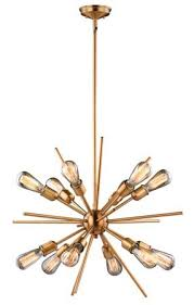 Corona Chandelier Langley Street Corona 12 Light Sputnik Chandelier U0026 Reviews Wayfair