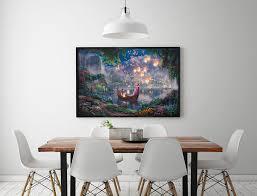 home interiors kinkade prints aliexpress com buy h1208 kinkade tangled hd canvas print