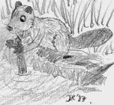 beaver sketch by joshua reynard on deviantart