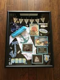 baby shadow box need to do this with my kiddos baby things baby needs