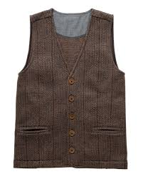 cotton traders jersey waistcoat unisex womens ladies mens