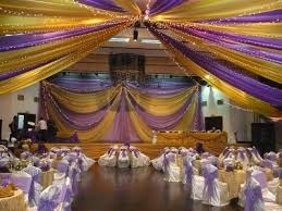 Wedding Hall Decorations Hall Decoration With 300 Chairs Covered For Just N75 000 Events