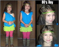 butterflygirlms rambles on crazy hair u0026 80s dress up day