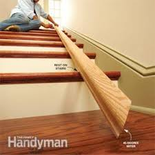 Banisters And Handrails Install A New Stair Handrail Family Handyman
