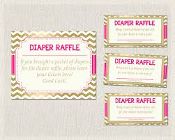 baby shower raffle raffle raffle hot pink gold chevron pink baby shower