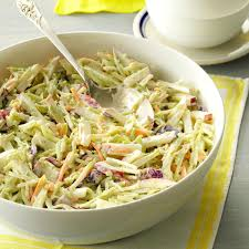 broccoli slaw with lemon dressing recipe taste of home