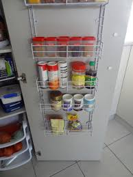 Kitchen Cabinet Door Spice Rack by Organising The Pantry Spice It Up There Was A Crooked House