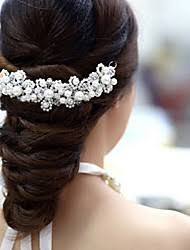 pearl hair accessories wedding hair accessories lightinthebox