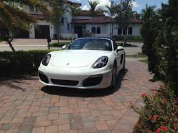 porsche dealership new member 2013 boxster s 981
