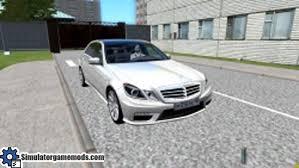 mercedes city car city car driving 1 4 mercedes e63 amg car
