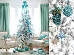 white xmas tree decorations purple with white christmas tree