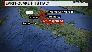 Norcia Italy Map 6 2m 2016 Central Italy Earthquake
