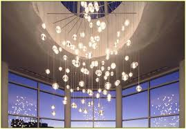 Glass Balls Chandelier Glass Ball Chandelier Modern Home Design Ideas
