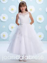 joan calabrese communion dresses joan calabrese mon cheri communion dress 116389 white