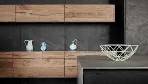 cuisine bois beton cuisine contemporaine en béton en chêne en plaqué bois