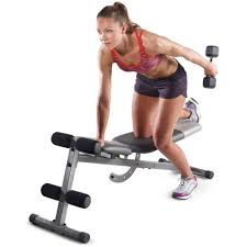 gold u0027s gym xr 5 9 adjustable slant workout weight bench walmart com